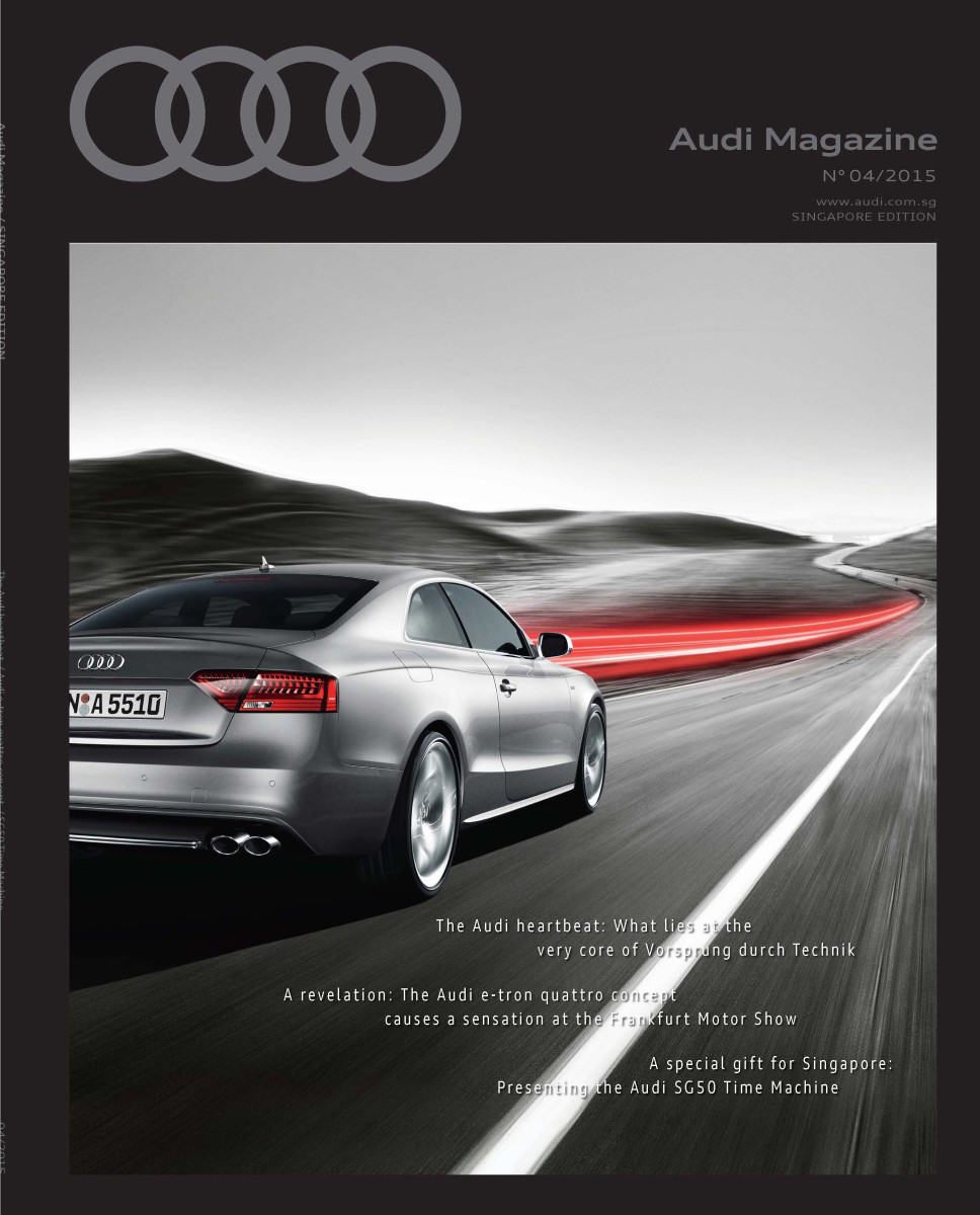 Print Content Production For Audi Marketing